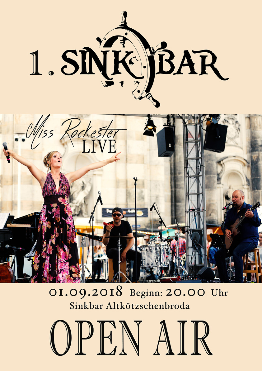 SinkBar Open Air Miss Rockester